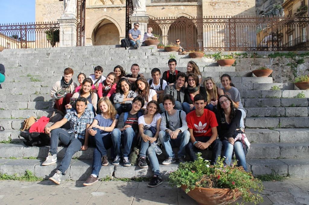 Students group at Palermo