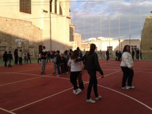 Afternoon sports at Santa Chiara